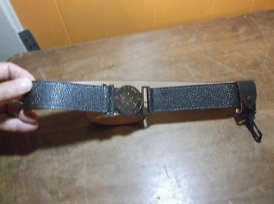 Vintage Boy Scouts Canada Official Belt Cowhide leather Sz 30