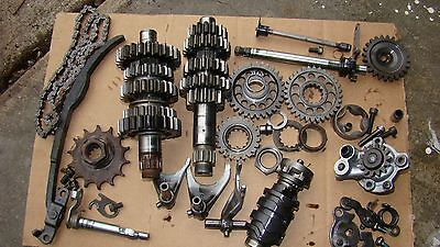 2001 Yamaha YZ426 Transmission Complete Shift Forks Drum Gears 2002 YZ 426F