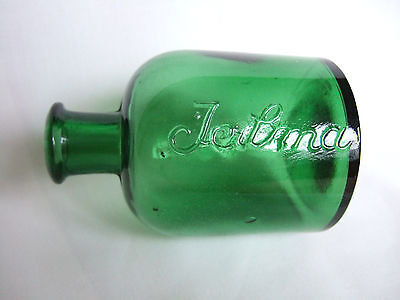 "Lovely mid-green ""Jeilma"" bottle. Great condition."