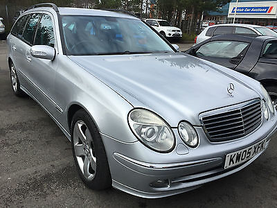 2005 Mercedes E280 Cdi Avantgarde Leather,colour Sat Nav,7 Seats,e/heat Seats