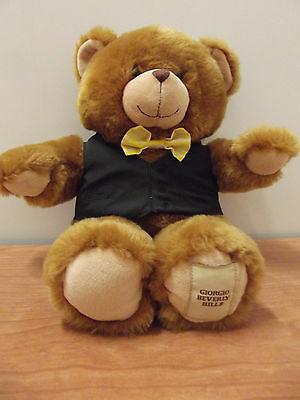 Ours Ancien Old Teddy Bear Giorgio Beverly Hills