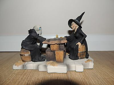 Clarecraft Discworld figures DW90 Death and Granny Weatherwax Limited Edition