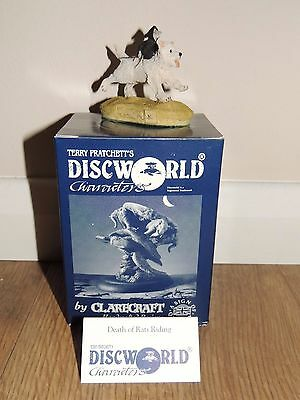 Clarecraft Discworld Figures - DW127 Death of Rats Riding