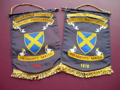 St.albans And District Bowling Association Pennants 1968 & 1970