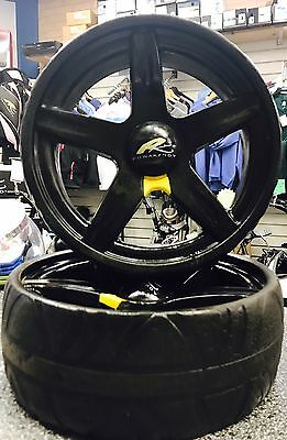 Powakaddy Wheels Fits All Powakaddys Between 1999-2016 Used Stand Out Sport Styl
