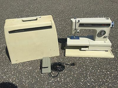 Sears Kenmore Industrial Sewing Machine + Pedal + Case 158.10691 Works 100%
