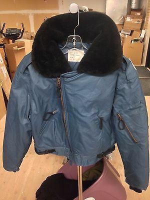 "Canadian Airforce Jacket (""Fur"" Collar)  6740 (Medium)"
