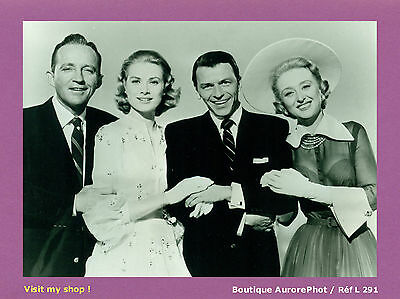 Photo De Presse Cinéma : Crosby, Grace Kelly, Sinatra & Celeste Holm -L291