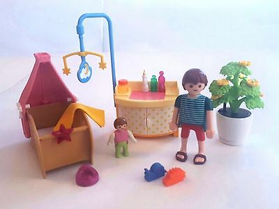 Playmobil 5334 Baby Room with Mobile - Dollhouse
