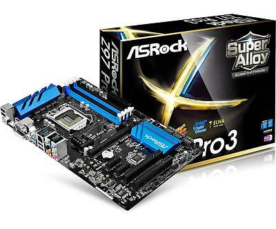 Asrock Z97 Pro3 Socket 1150 Atx Motherboard Retail Packaged Fully Tested