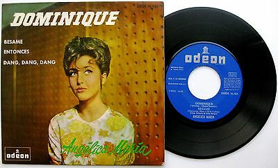 ANGELICA MARIA Dominique +3 - EP Odeon 1964 Spain Spanish