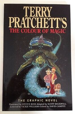 Terry Pratchett's The Colour Of Magic - Signed Graphic Novel