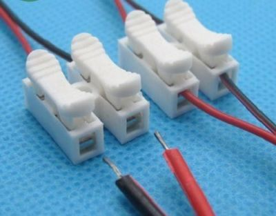 Quick Connector Cable Clamp Wire Connector Terminal Easy For Led Strip HILL007
