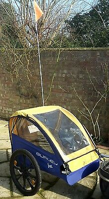 Burley Bee Trailer!! 1 or 2 children. Perfect for Centre Parcs!