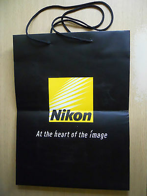 Collectable Nikon 'At The Heart Of The Image' Carrier Bag. (a)