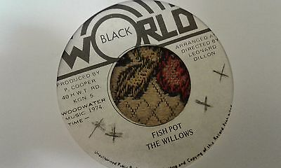 "The Willows , Fish Pot , 7 "" Black World Record Label"