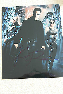 KEANU REEVES    SIGNED Autographed THE MATRIX