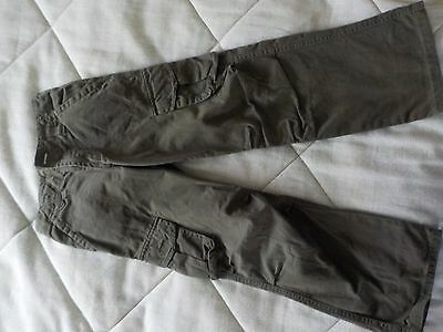 thick cargo trousers aged 7-8 years
