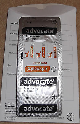Advocate for dogs 4-10kg Brand New Unopened