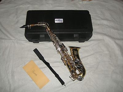 bundy alto saxophone/ with hard shell case org sales ticket