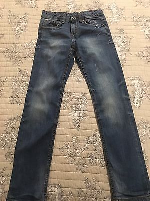Boy's Zara Jeans . Age 7-8 Years. Excellent Condition