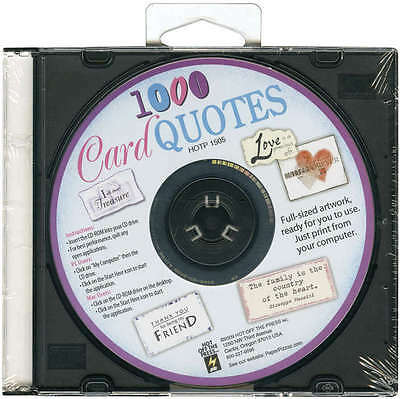 Card Quotes CD 1,000 Quotes H1505