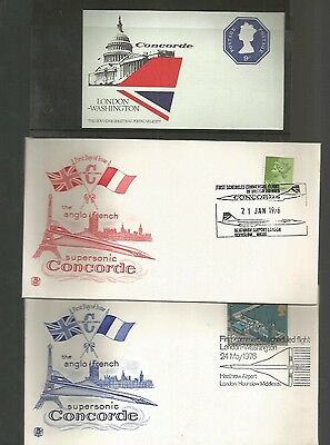 Concorde Collection Of Covers