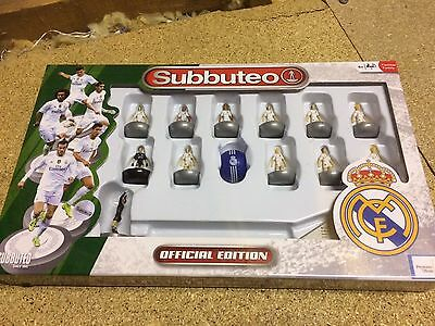 Real Madrid Official Subbuteo Player Set Brand New and un-opened