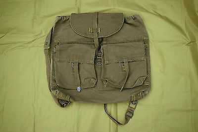 Vintage Czech Army CANVAS Day Pack / Rucksack