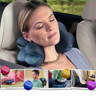 Neck Massage Plum Flower Pillow Versatile Comfort Pillow Cushion Bolster Travel