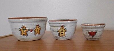Small DisplayGingerbread Bowls, set/3 The Boyds Collection