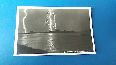 Jersey Channel Islands Postcard Great Electric Storm 1931 Real Photo A Smith