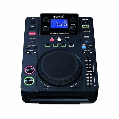 Lettore cd Gemini CDJ 300 CD Player, Nero,chiedi la disponibilita'