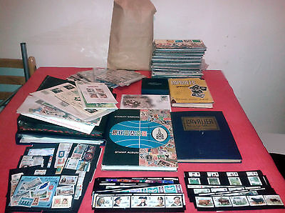 Stamp Collection Commonwealth Europe World Mint Used Royal Mail Stamps