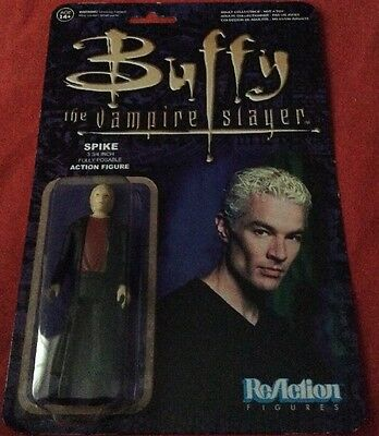 Spike Buffy The Vampire Slayer ReAction Figure New Never Opened