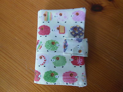 New Sewing Needle Case With Six Felt Leaves Velcro Fastening