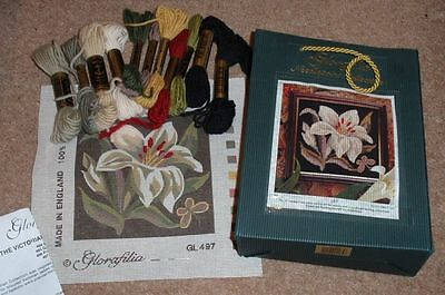 Glorafilia Needlepoint Kit Lily The Victorian Collection - Discontinued Gl497