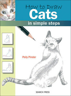 Search Press Books How To Draw Cats SP-83693