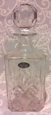Royal Doulton Crystal Decanter And Stopper