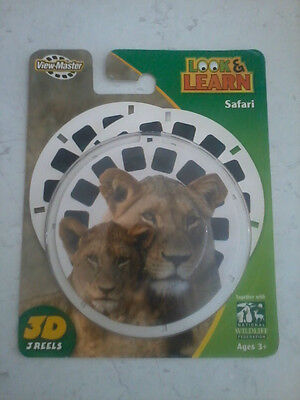 Fisher Price Look & Learn Safari View Master 3D reels (re: photos)