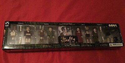 Buffy The Vampire Slayer Very Rare Halloween Edition 4 Pack Palz Figures