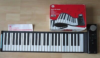 Amazing  Roll Up - Lightweight - Robust Rubber Piano Keyboard - Hardly Used