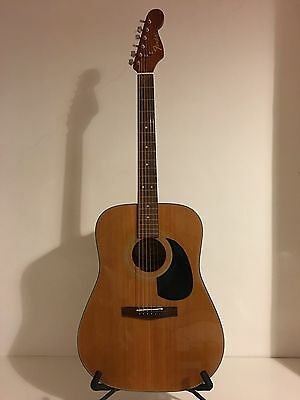Fender AG23 N acoustic guitar with stratocaster type neck rare 1995