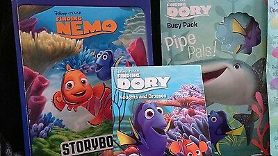 Finding Dory & Finding Nemo Storybook and Activity Pack