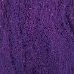 "Wool Roving 12"" .22oz Grape R-W831R"