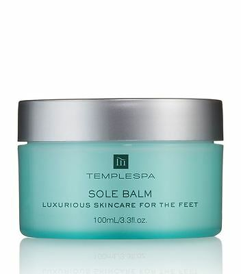 Temple Spa Sole Balm Skin Care For The Feet NEW