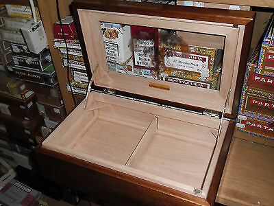 HUMIDOR FOR CIGARS - WOOD humidor sigari cubani umidificatore box scatola legno