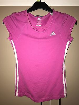 Pink Adidas Gym/Fitness Top - Size 10