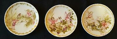 3 Crown Staffordshire Wall Plaques
