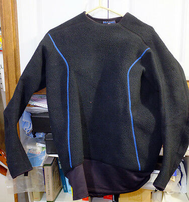 Bare SB System Mid Layer Fleece Top for under Scuba Dry Suit, XL